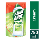 Handy Andy Cleaning Cream Lemon Fresh Refill 750ml