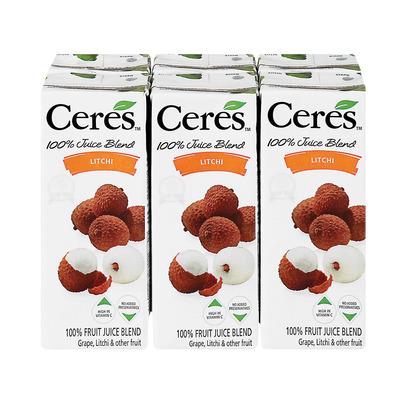 Ceres Litchi Juice 200ml x 6 | Pack | Unit of Measure | Pick