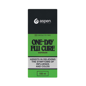 One Day Flu Cure Mixture 100 Ml