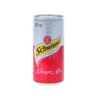 Schweppes Ginger Ale Can 200ml x 6