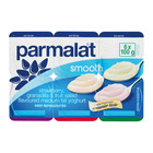 Parmalat Medium Fat Smooth Strawberry, Granadilla & Fruit Salad Yoghurt 6s