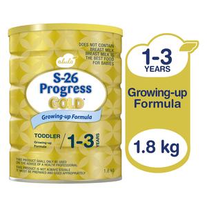 S-26 Infant Formula Progress Gold3 1.8kg