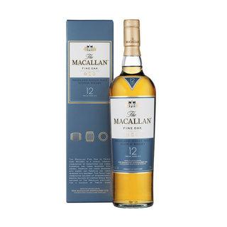 The Macallan 12 YO Single Malt Whiskey 750ml