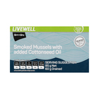 PnP Smoked Mussels with added Cottonseed Oil 85g