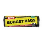 Tuffy Budget Refuse Bags Black 20s 50mm x 950mm