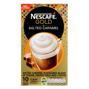 Nescafe Gold Salted Caramel Latte Sachets 10s