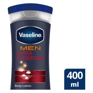 Vaseline MEN Extra Hydration Body Lotion 400ml