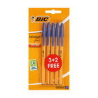 BIC Orange Fine 3 + 2 Blue Pens