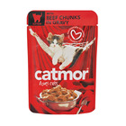 Catmor Beef In Gravy Kitten 85g