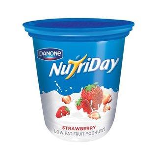 Danone Nutriday Low Fat Strawberry Yoghurt 1kg