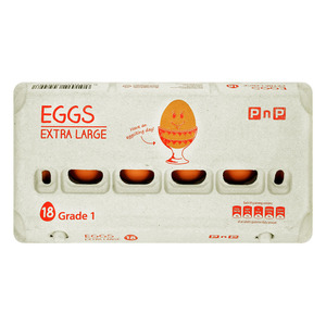 PnP Extra Large Eggs 18s