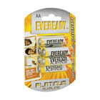 Eveready Platinum Alkaline AA Batteries 6s