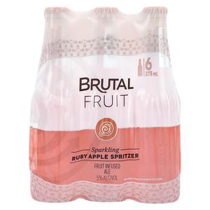 Brutal Fruit Ruby Apple NRB 275ml x 6