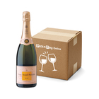 Veuve Clicquot Brut Rose 750ml x 6