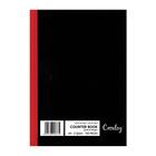 Croxley A4 192pg Counter Book Quad & Margin