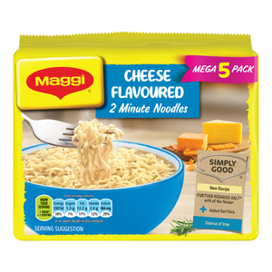 Maggi 2-Minute Noodles Cheese Flavour 73g 5s x 8