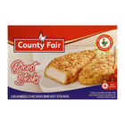 County Fair Crumbed Chicken Breast Steaks 400g