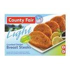 County Fair Lemon Pepper Breast Fillet 400g