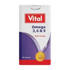Vital Omega 3 6 And 9 Capsules 30ea
