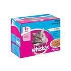 Whiskas Multipk Fish In Jelly 12x85g