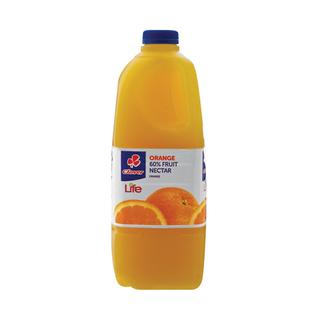 Clover Nectar Orange 60% 2 Litre