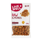 PnP Live Well Raw Almonds 250g