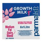 Parmalat UHT Growth Milk 1+ 1l x 6