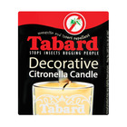 Tabard Glass Citronella Candle