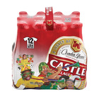 Castle Lager Bottle NRB 340ml  12ea