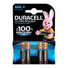 Duracell Alkaline Batteries Ultra Power AAA 4s