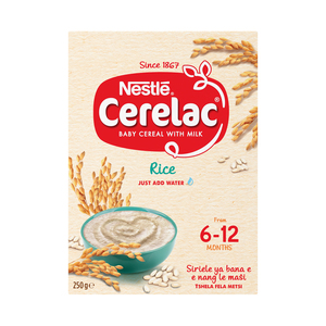 Nestle Cerelac Infant Cereal Rice 250g