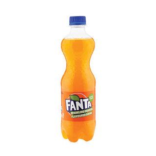 Fanta Orange Plastic Bottle 500ml