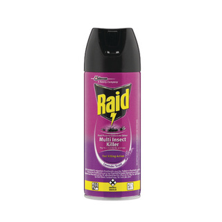 Raid Dual Purpose Low Odour Insecticide 300ml x 6