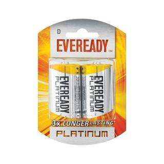 Eveready Lr20 Bp2 D Battery 2 Ea