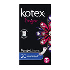Kotex Pantyliners Unscented 20ea