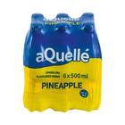 Aquelle Pineapple Sparkling Flavoured Drink 500ml x 6