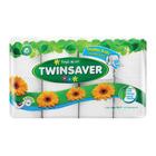 Twinsaver Toilet Paper 1Ply Mini White 8's
