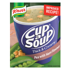 Knorr Cup-A-Soup Thick & Creamy Rich Pea & Ham 3s