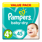 Pampers Active Baby Nappies Maxi+ Value Pack 45s