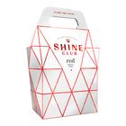 Shine Club Handbag Red 3L