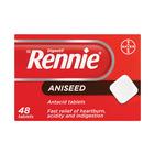 Rennie Antacid Tablets Aniseed 48ea