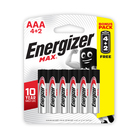 Energizer Max AAA 6 Pack