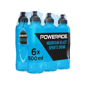 Powerade Mountain Blast 500ml x 6