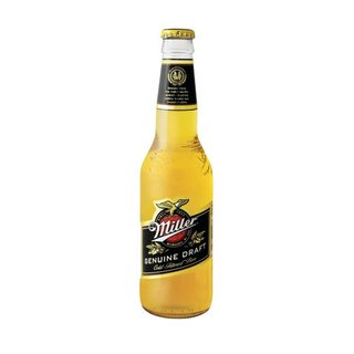 Miller Genuine Draft Beer NRB 330 ml  x 24