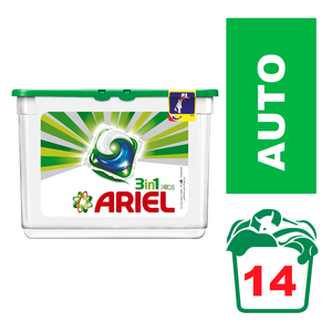 Ariel Liquid Detergent Capsules 14ea