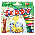 Teddy Wax Crayons 9ea