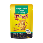 Pamper F/cuts Tuna & Salmon 85g