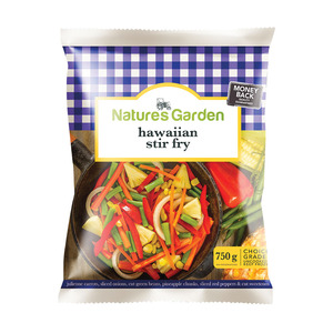 Natures Garden Hawaiian Stir-Fry 750g