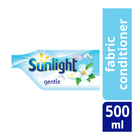 Sunlight Fabric Conditioner Refill Gentle 500ml x 18
