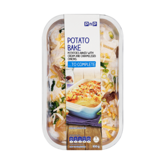 PNP POTATO BAKE 850GR
